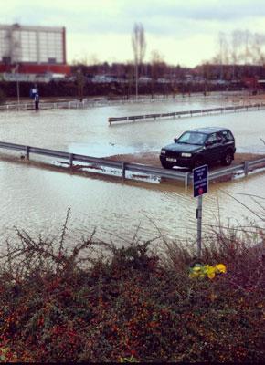 Banbury Floods Oxfordshire Photography